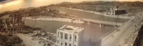 Hiroshima - Musée, photo après la bombe