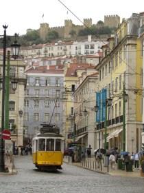 Lisbonne - Centre - Place Da Figueira, tramway