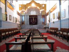 Marrakech - Zone Kasba, synagogue
