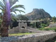 Péloponnèse - Napflio - La porte de la Terre, l'entrée du Palamidi et de l'Acronafplia - 'Pili Tis Xiras'