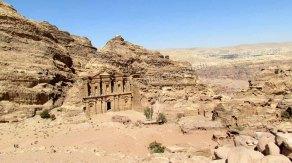 Pétra - Vue sur le Monastère 'Ad-Deir'