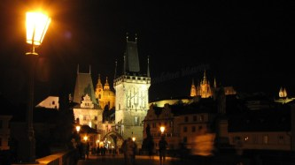 Prague - Pont Charles de nuit 'Karlův Most'