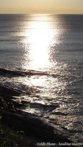 Pyrénées-Atlantiques - Corniche basque - Coucher du soleil