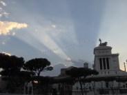 Rome - Couché du soleil - fort impérial