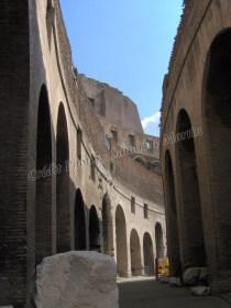 Rome antique - Le Colisée, intérieur