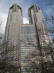 Tokyo - Shinjuku, quartier des affaires, Metropolitan government office