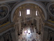 Vatican - Intérieur de la basilique