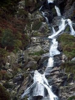 Wicklow mountains - Sur la route - Chute d'eau de Glenmalure