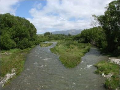 Entre Timaru et Lake Tekapo