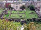 Edimbourg - Calton Hill, vue sur cimetière