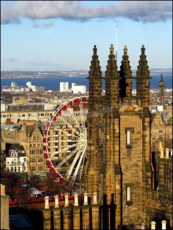 Edimbourg - Vue sur la ville