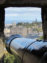 Edimbourg - Vue sur le château