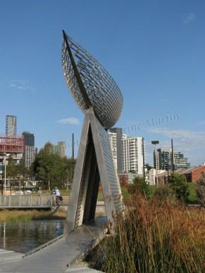 Melbourne - Dockland - Sculptures