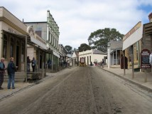 Ouest Victoria - Ballarat 'Sovereign Hill', village rescontitué à l'époque de la ruée vers l'or