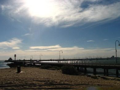St Kilda beach - Plage
