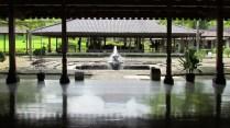 Temple de Borobudur, jardin