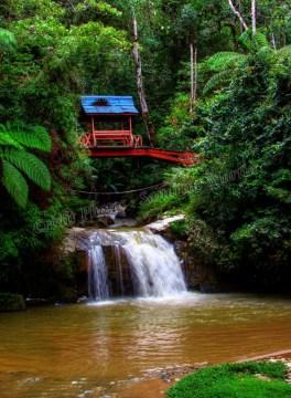 Cameron Highlands - Tanah Rata - Chute d'eau 'Parit'
