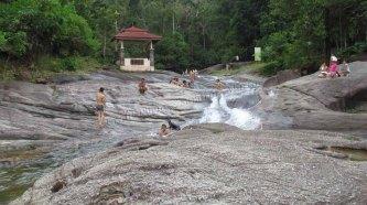 Ile Langkawi - Les sept puits 'seven wells'