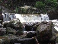 Ile Langkawi - Petite chute d'eau perdue