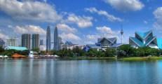 Kuala Lumpur - Lac Titiwangsa, vue