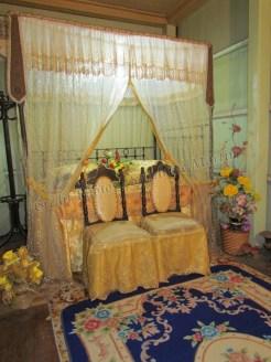 Malacca - Villa Sentosa Kampung Morten, maison traditionelle, chambre