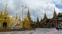 Yangon - Temple 'Shwe Dagon'