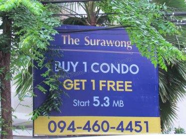 Bangkok - Silom - Au hasard des rues, 'un appart acheté, un appart gratuit'