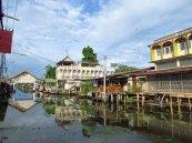 Damnuan Saduak - Le long du canal