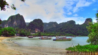 Krabi environs - Railay beach