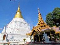 Lampang - Temple 'Wat Phra Kaeo Don Tao Suchadaram'