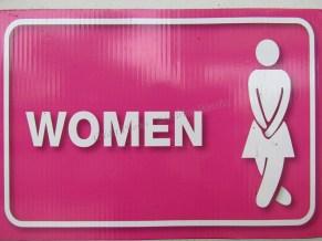 Sukhotai - Parc historique - Toilettes signe femme