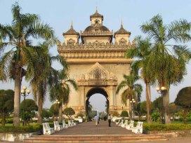 Vientiane - Arc de triomphe 'Patuxai'
