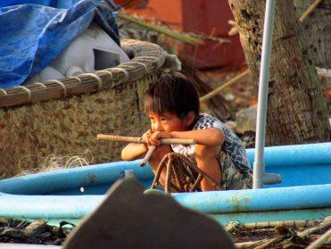 Mui Ne - Plage, bateaux de pêche