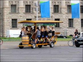 Berlin - Au hasard des rues, bière activité