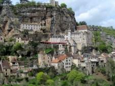 Lot - Rocamadour, vue sur le village