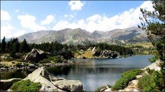 Pyrénées-Orientales - Lac des Bouillouses et lacs du Carlit