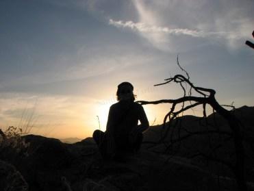 Arizona - Tucson - Mount Lemon, coucher du soleil
