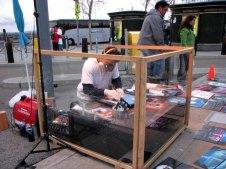 Californie - San Francisco - Waterfront - Artiste de rue