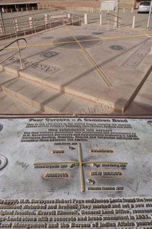 Les 4 coins, Colorado, Nouveau Mexique, Arizona, Utah