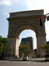 New-York - Manhattan - Greenwich Village, 'arc de triomphe'