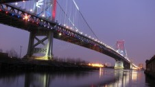 Pennsylvanie - Philadelphie - Benjamin Franklin bridge
