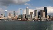 Washington - Seattle - Downtown - Vue sur Seattle depuis le Ferry