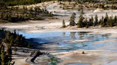 Wyoming - Yellowstone - Norris Geyser Basin - Trail