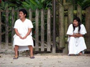 Chiapas - Site de Palenque, les indigènes