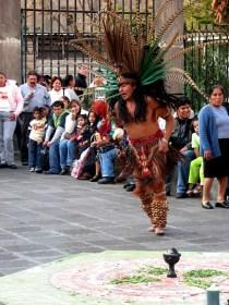 Mexico - Mexico DF - Downtown - Spectacle de rue