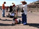 Mexico - Téotihuacan, vendeurs