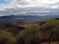 Oaxaca - Monte Alban - Vue