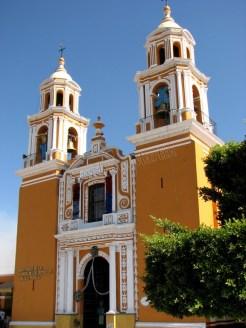 Puebla - Cholula, église 'Nuestra Señora de los Remedios'