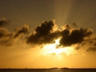 Quintana Roo - Tulum - Réserve de la biosphere Sian Ka An, coucher du soleil