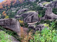 Les monastères des Météores - Vue sur les météores
